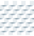 white geometric texture clean paper background vector image