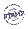 Rubber stamp template vector image
