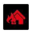 Fire Damage icon vector image