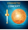 Cosmetic concept icon vector image