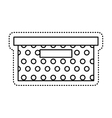 office packing box isolated icon vector image