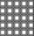 Rounded square grid pattern design background vector image