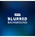 blue dark blue black abstract background blurred vector image