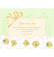 Hand drawn greeting card vintage art deco style vector image