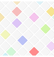 flat background with squares vector image