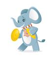 Elephant symbols vector image vector image