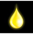 Drop of oil vector image