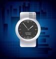 watch wrist design vector image