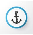 ship hook icon symbol premium quality isolated vector image