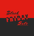 Black friday sale poster mockup design element vector image