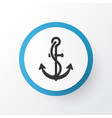 ship hook icon symbol premium quality isolated vector image