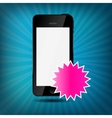 Abstract mobile phone vector image vector image