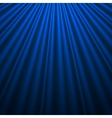 Blue silk background vector image