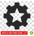 Favorites Options Gear Eps Icon vector image