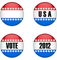 USA vote vector image