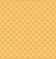 ice cream pattern wafle texture vector image