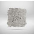 natural linen fiber texture vector image