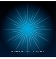 speed of light vector image