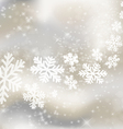 Abstract winter design vector image vector image