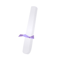 icon paper roll vector image vector image