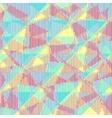 Multicolored halftone stripes texture vector image