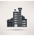 Tax authorities Building is an icon flat vector image