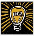 idea concept vector image vector image