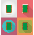 sport flat icons 56 vector image