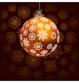 Elegant christmas background  EPS8 vector image vector image