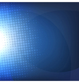 Dark Blue Background With Blur vector image