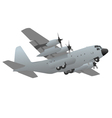 Military Transport Cargo Aircraft vector image