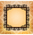 ornamented frame vector image vector image