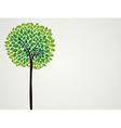 Cute tree vector image vector image