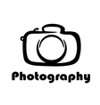 Photography icon vector image vector image