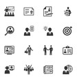 Employment and Business Icons vector image