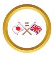 Translation to english icon vector image