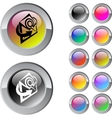 E-mail multicolor round button vector image vector image