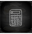 Hand Drawn Calculator vector image