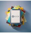 E-Book vector image