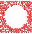 Romantic Hearts Decor vector image