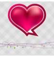 Valentines Day in vintage style  EPS8 vector image vector image
