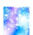 Merry Christmas greeting card EPS 10 vector image