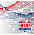 independence day 4 th of july vector image