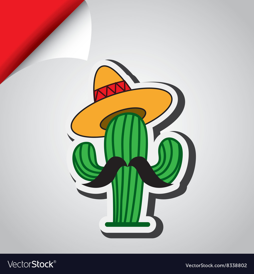 Mexican culture icon design vector
