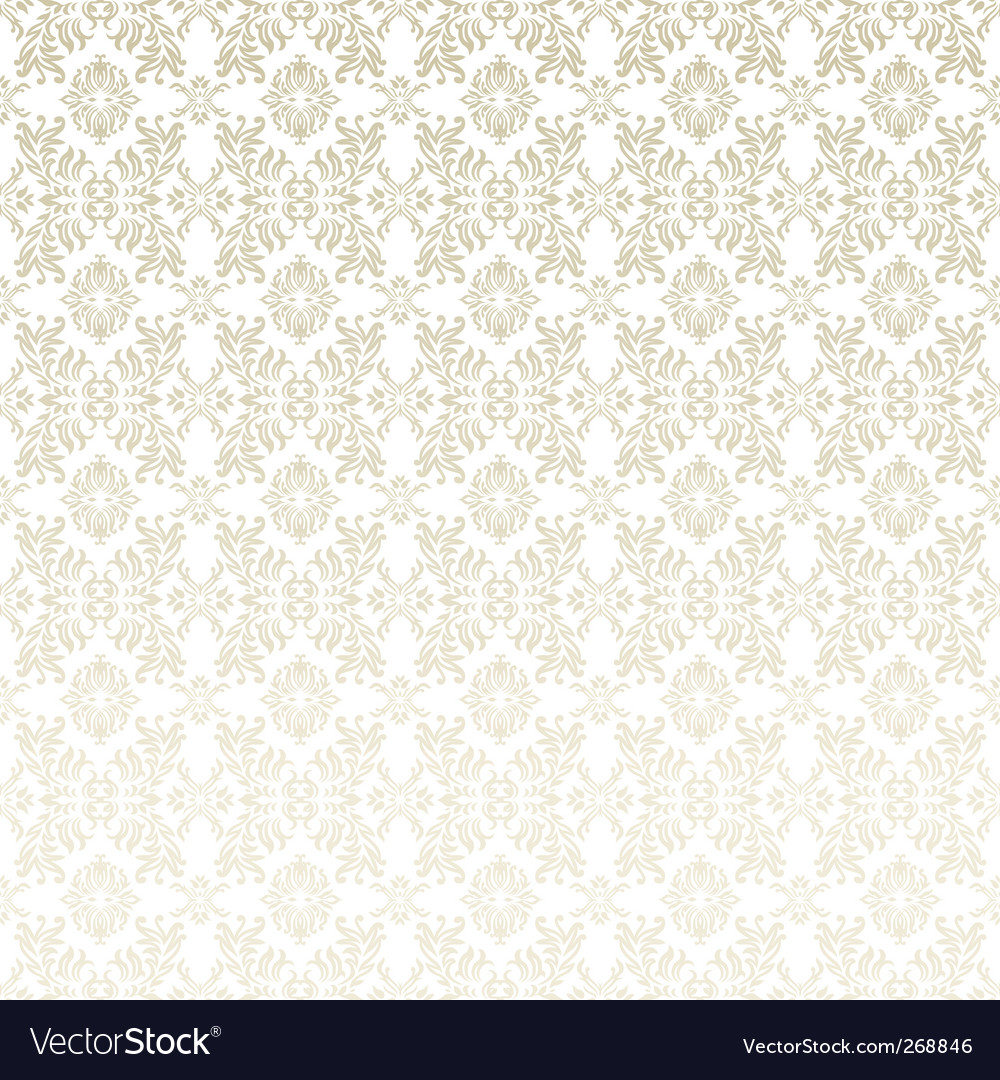 Floral leaf background vector