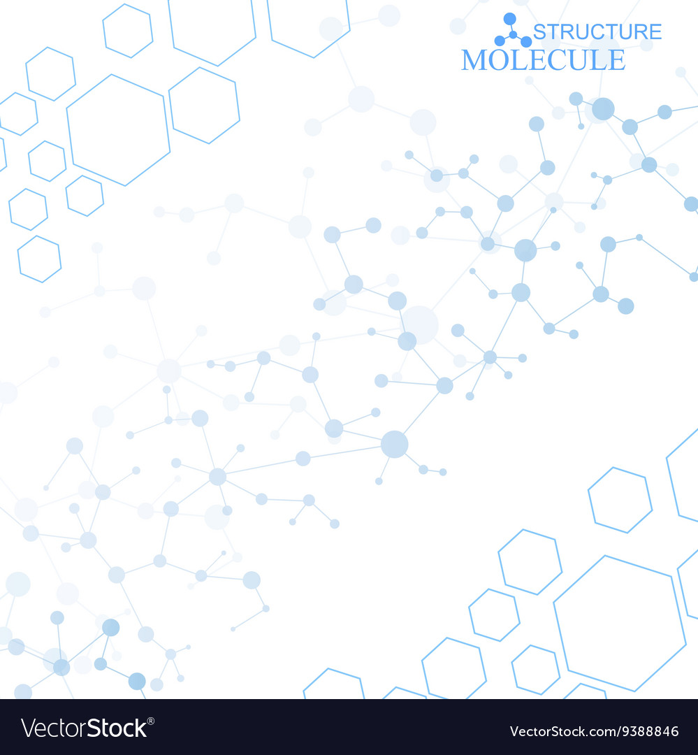 Molecule structure and communication on the blue vector