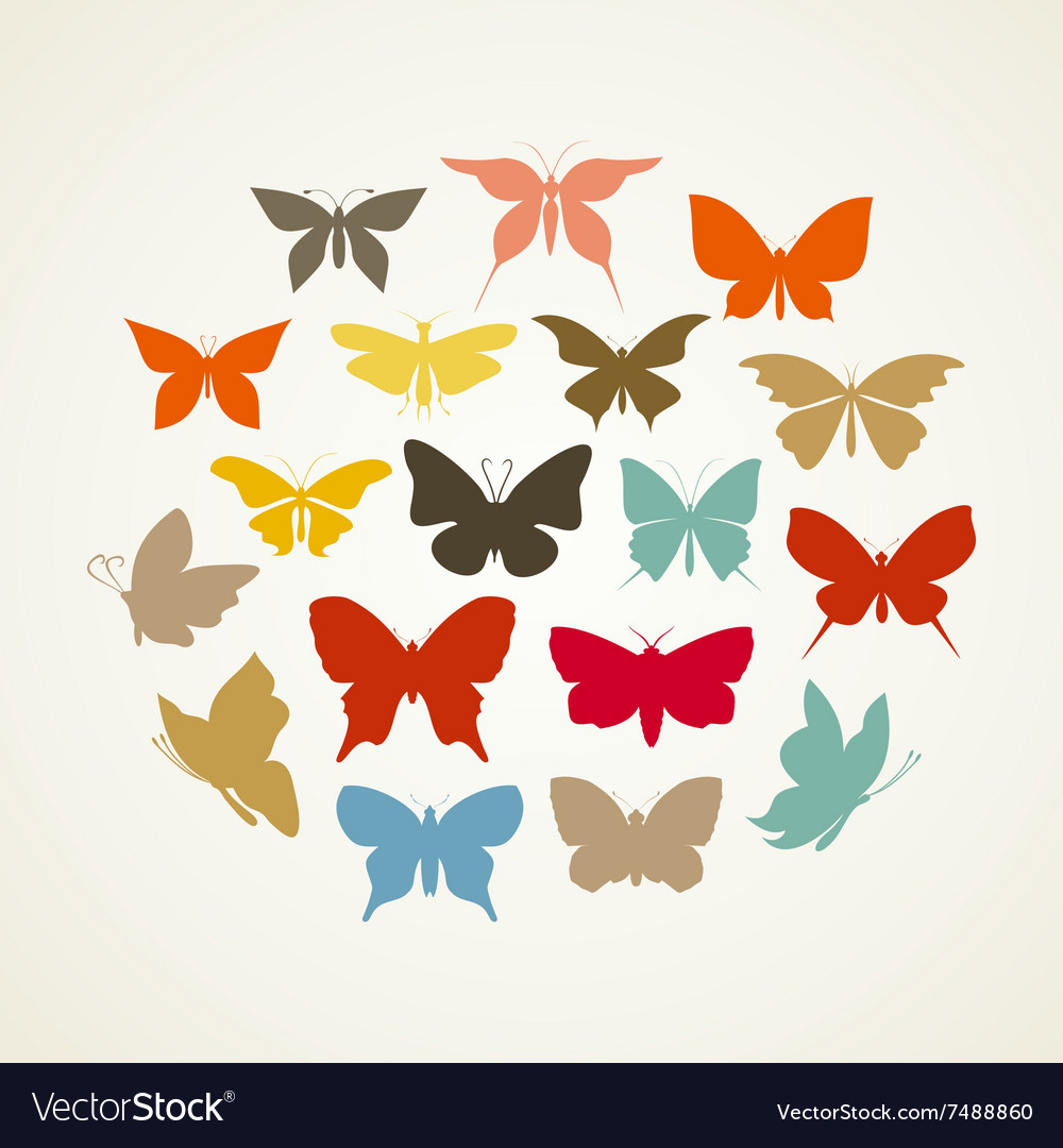 Art butterfly3 vector