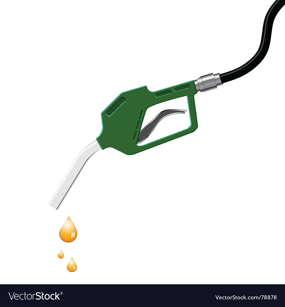 Gas pump vector