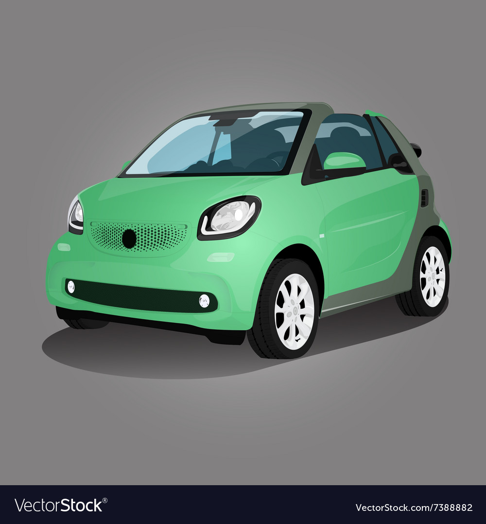 Printgreen compact vehicle vector