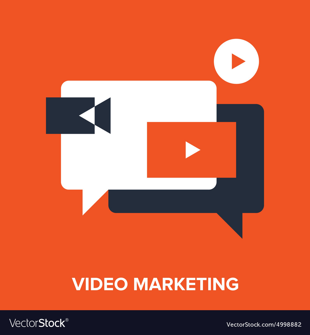 Video marketing vector